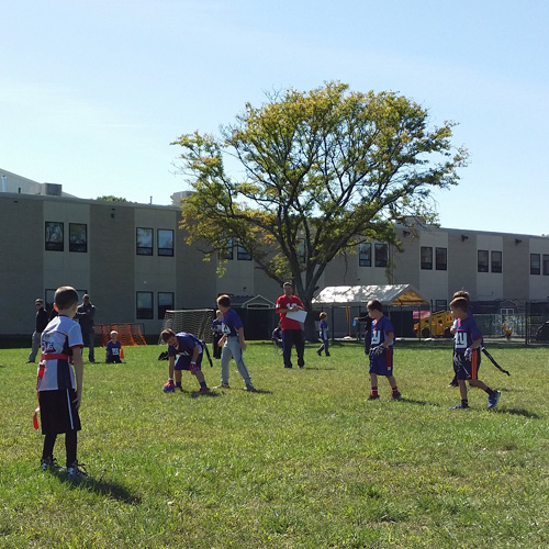 Flag Football League at JCC Rockland