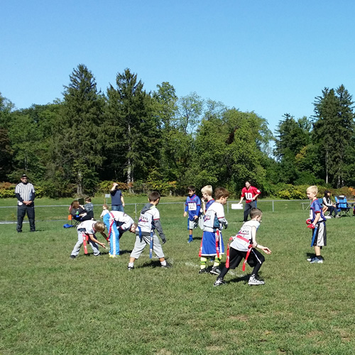 Flag Football League at JCC Rockland