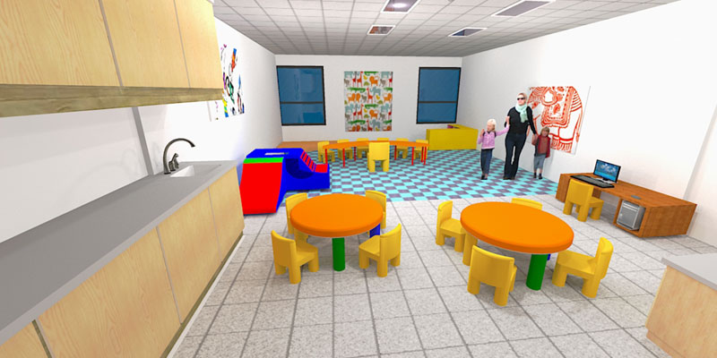 new Early Childhood classrooms width=