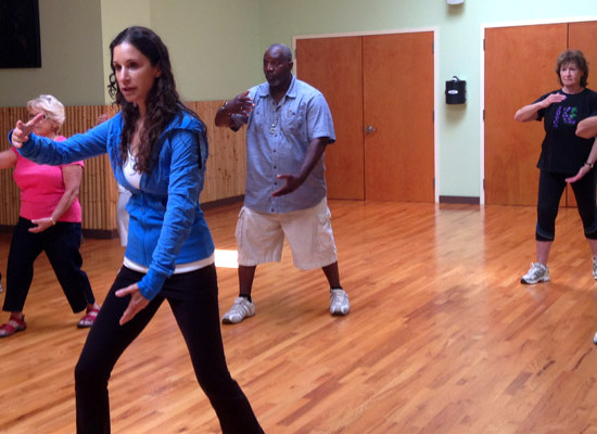 Tai Chi class with Barrie Austin