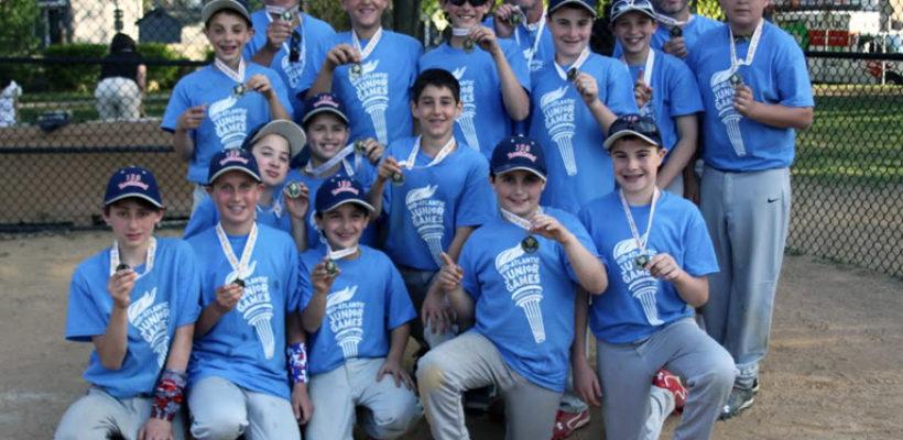 Boys Baseball Team Wins Gold Medal at JR. Maccabi Games in Philadelphia