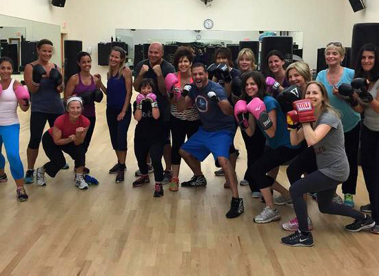 Kickboxing class with Martin Calzadilla at JCC Rockland