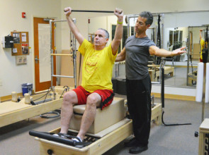 Pilates Reformer with Jonathan