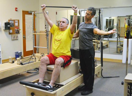 Pilates Reformer with Jonathan