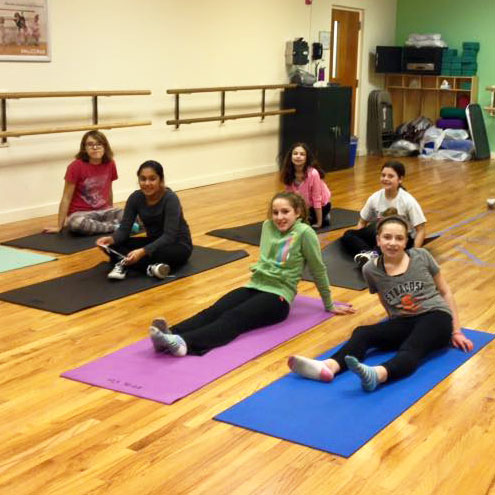 Girl Power at JCC Rockland: Yoga class