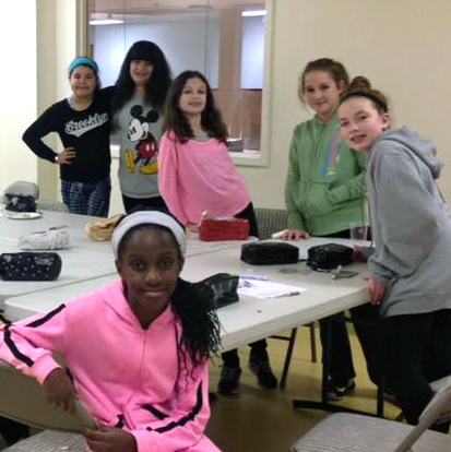 Girl Power at JCC Rockland: Hands on crafting