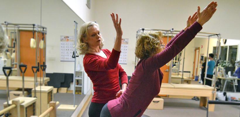 Pilates Reformer with Dana