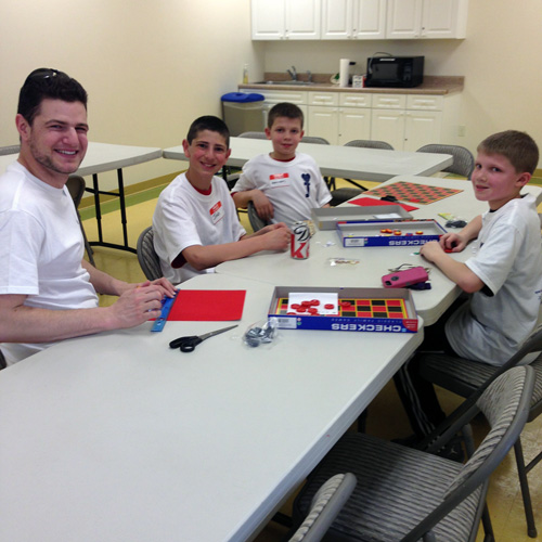 Mitzvah Day at JCC Rockland 2014: Adaptable Games