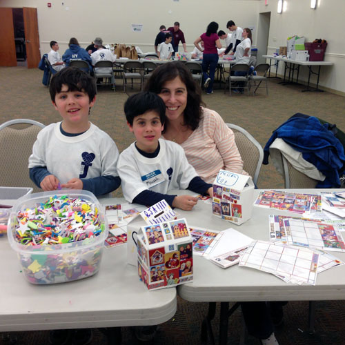 Mitzvah Day at JCC Rockland 2014: Family Philanthropy