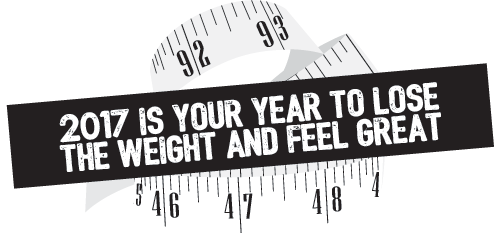 2017 is your year to lose the weight and feel great!