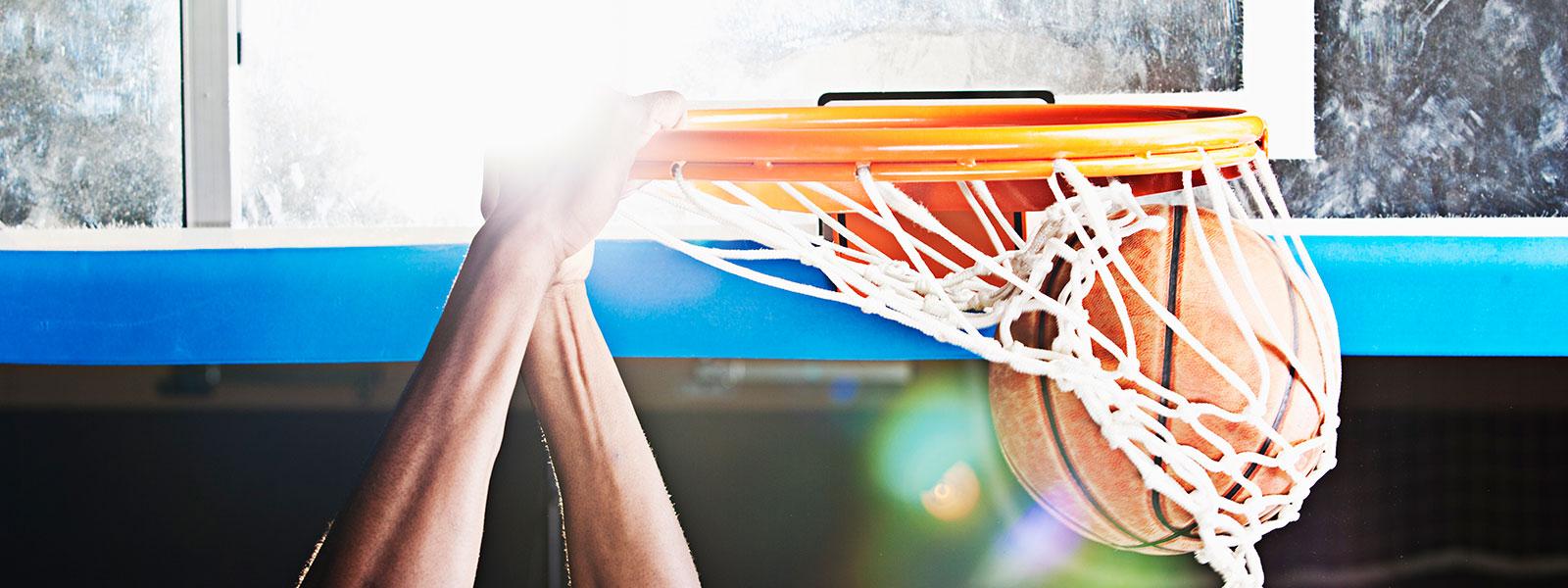 Clergy basketball