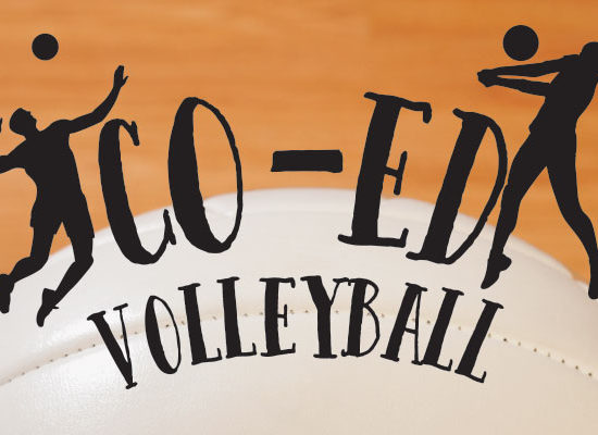 Co-ed recreational volleyball